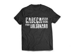 Camisa Cabeça Vazia é Oficina para Bolsonaro