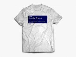 Camisa Rua Marielle Franco